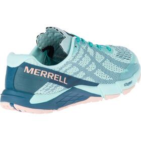 Merrell Bare Access Flex E-Mesh Shoes Women Turquoise